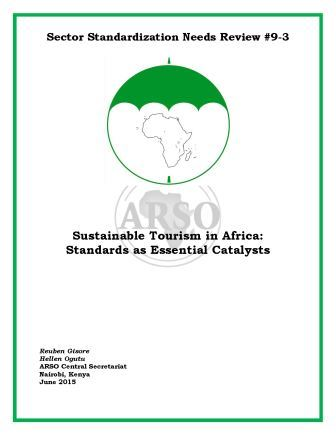 Sustainable Tourism in Africa - Standards as Catalysts